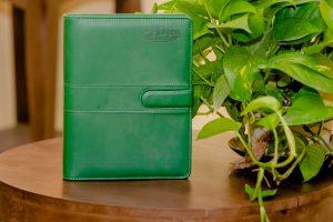 Sổ Bìa Còng – Green Pearl